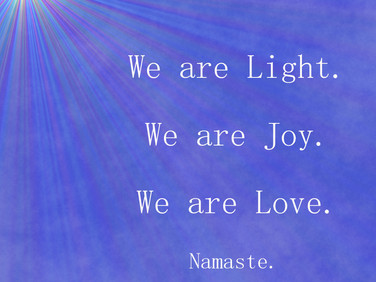We Are Light 💖