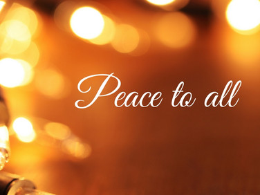 Peace to All ♥