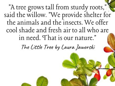 The Little Tree by Laura Jaworski (@bugburrypond) 🌱
