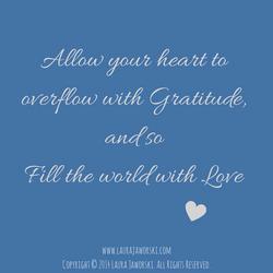 Gratitude and Love
