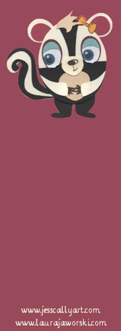Skunky Bookmark Blank