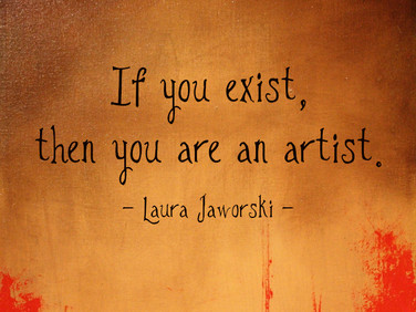 You Are an Artist ♥