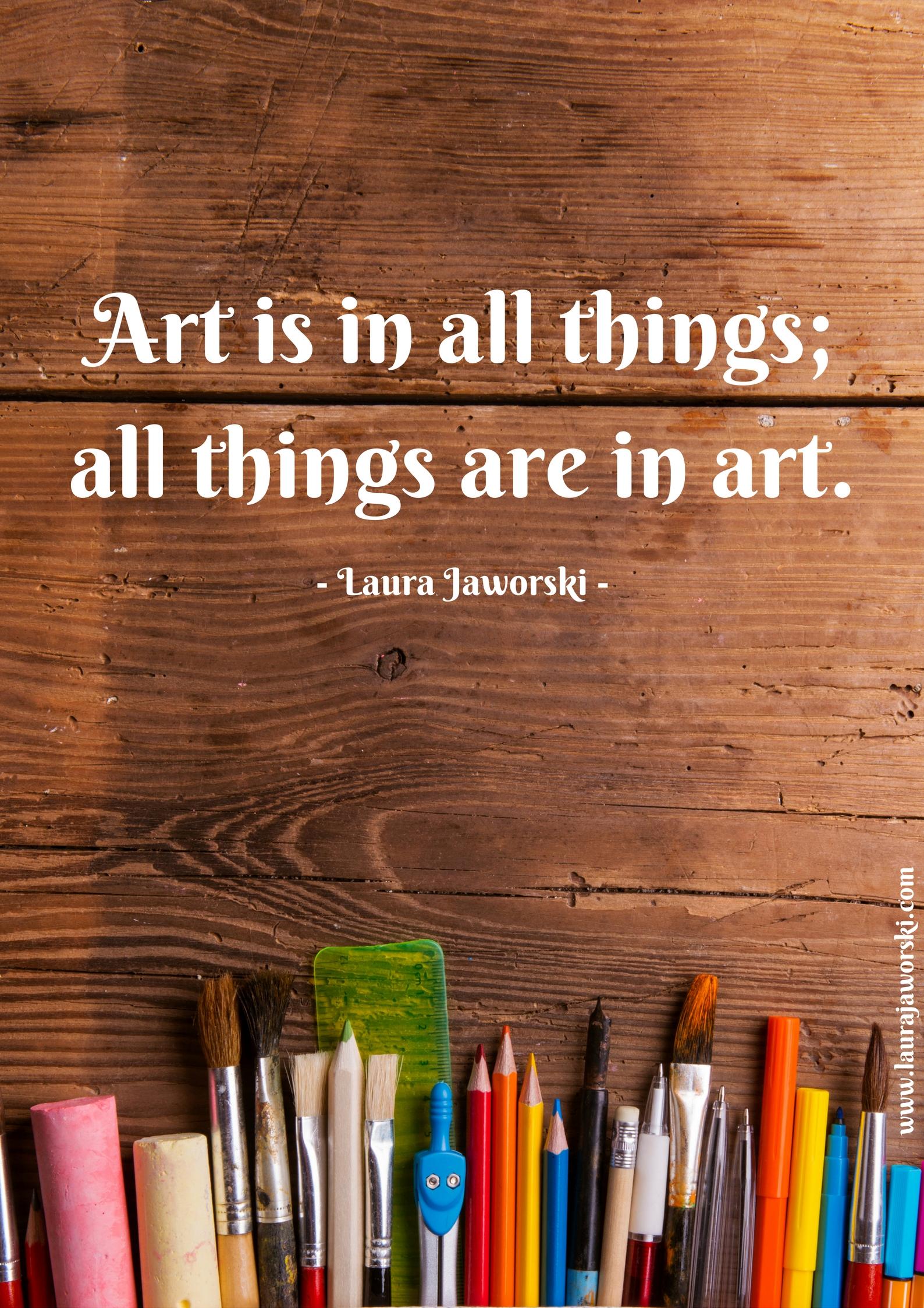 Art ♥ | www.laurajaworski.com