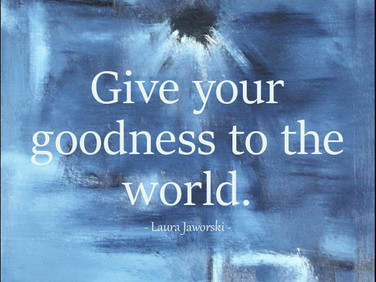 Give Your Goodness ♥
