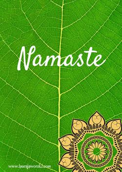 Namaste   www.laurajaworski.com