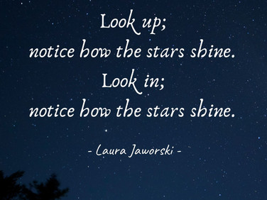 Notice How the Stars Shine ♥