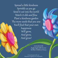 Kindness   www.laurajaworski.com