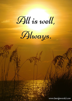 All Is Well   www.laurajaworski.com