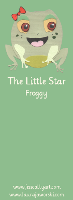 Froggy Bookmark Froggy