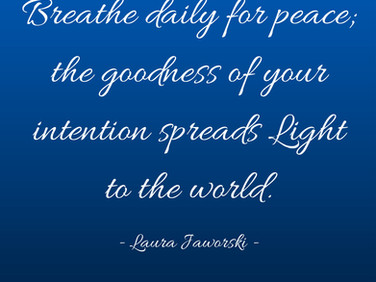 Breathe for Peace ♥