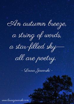Poetry   www.laurajaworski.com