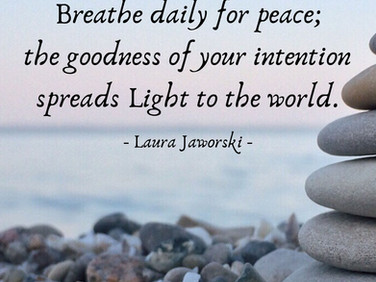 Breathe Daily for Peace ♥