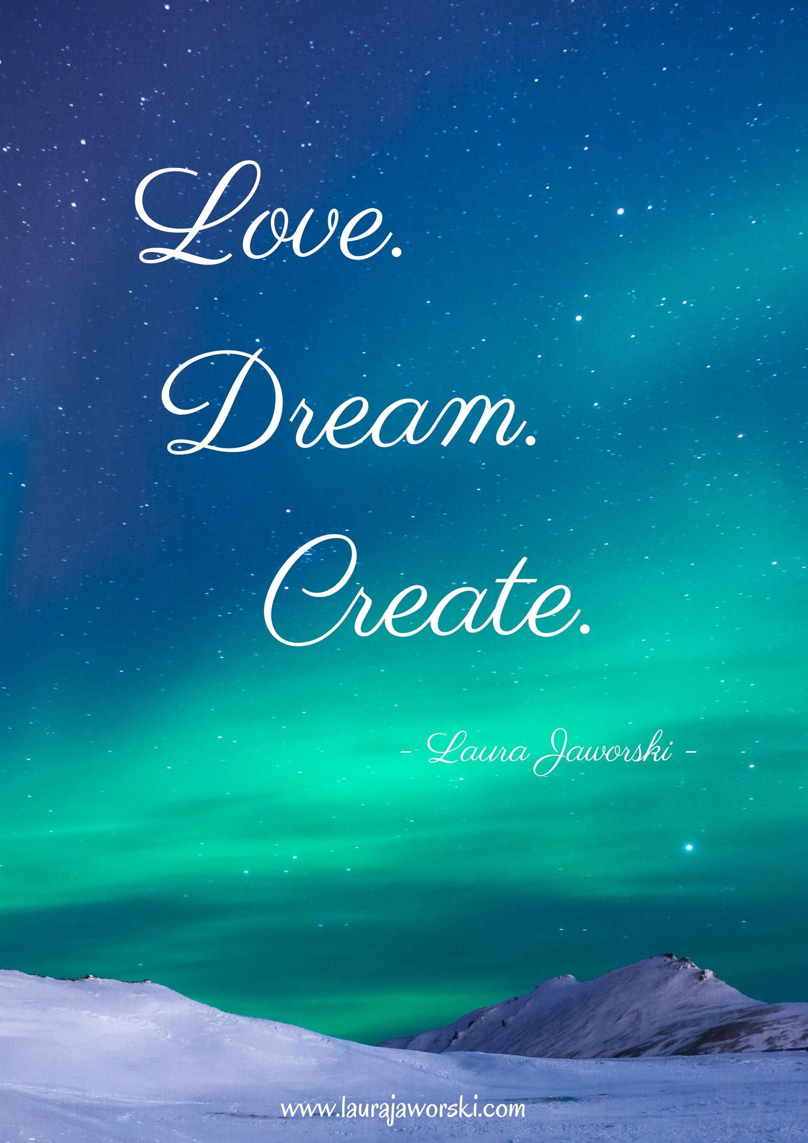 Create ♥ | www.laurajaworski.com
