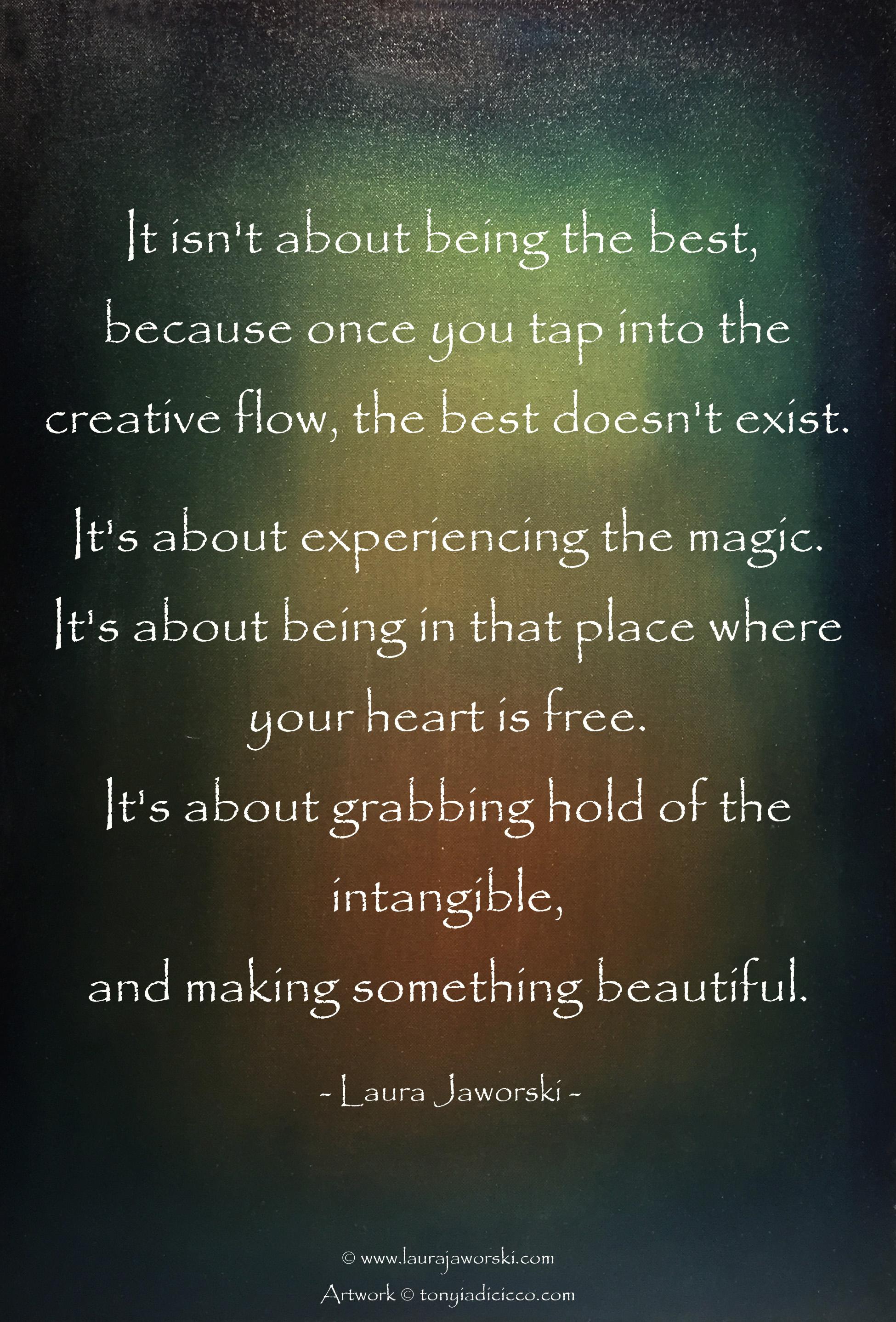Creativity | www.laurajawori.com