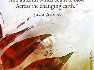 The Changing Earth by Laura Jaworski (@bugburrypond) 🍂