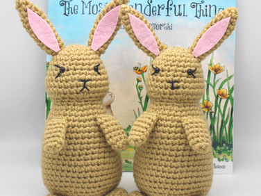 Free Bunny Crochet Pattern From Our New Children's Book, The Most Wonderful Thing! 🐇