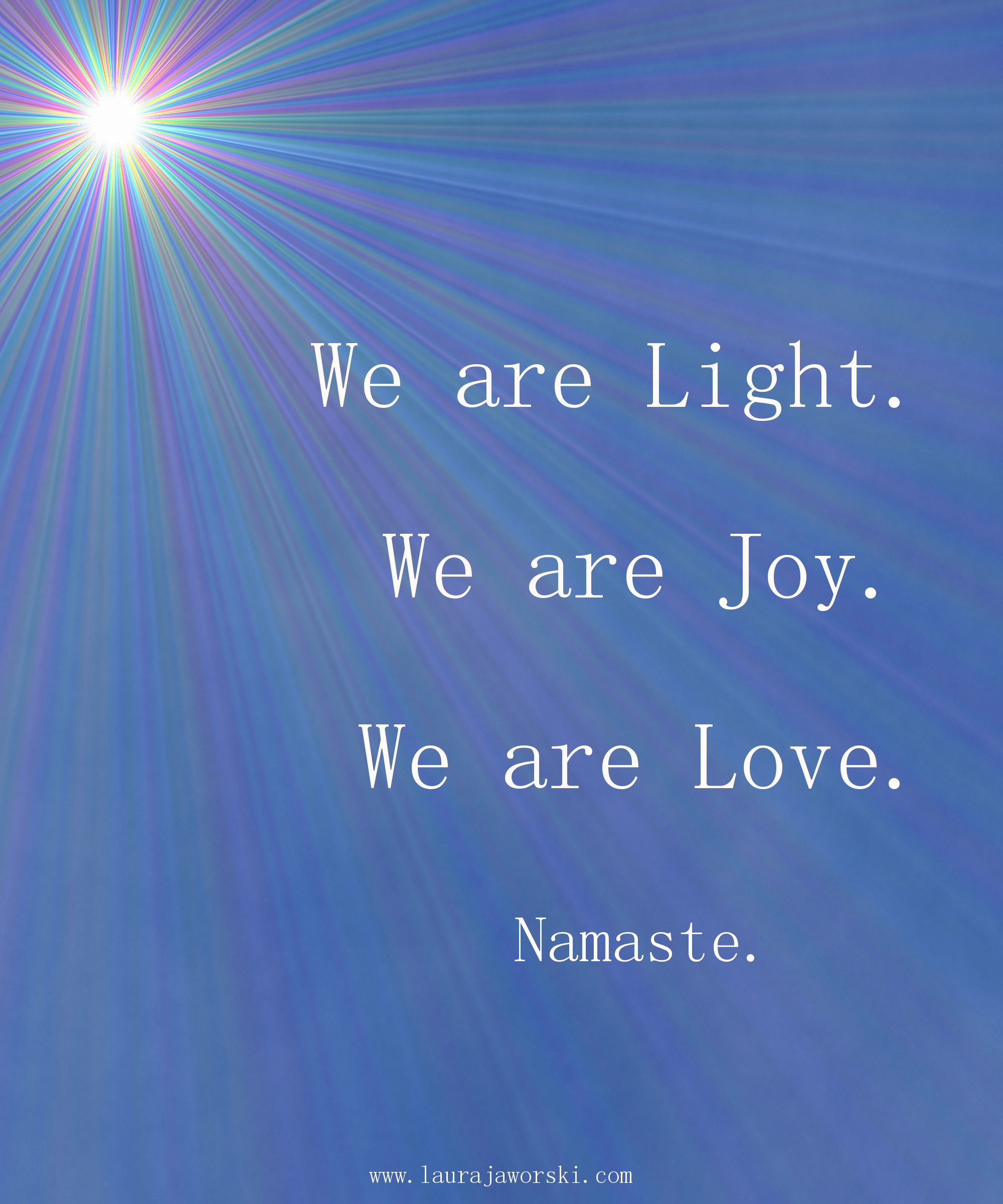 Light 💖 | www.laurajaworski.com