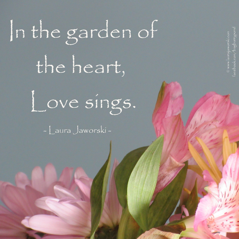 Love Sings | www.laurajaworski.com