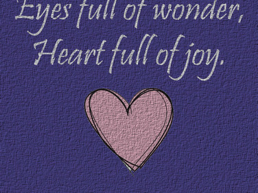 Heart Full of Joy ♥