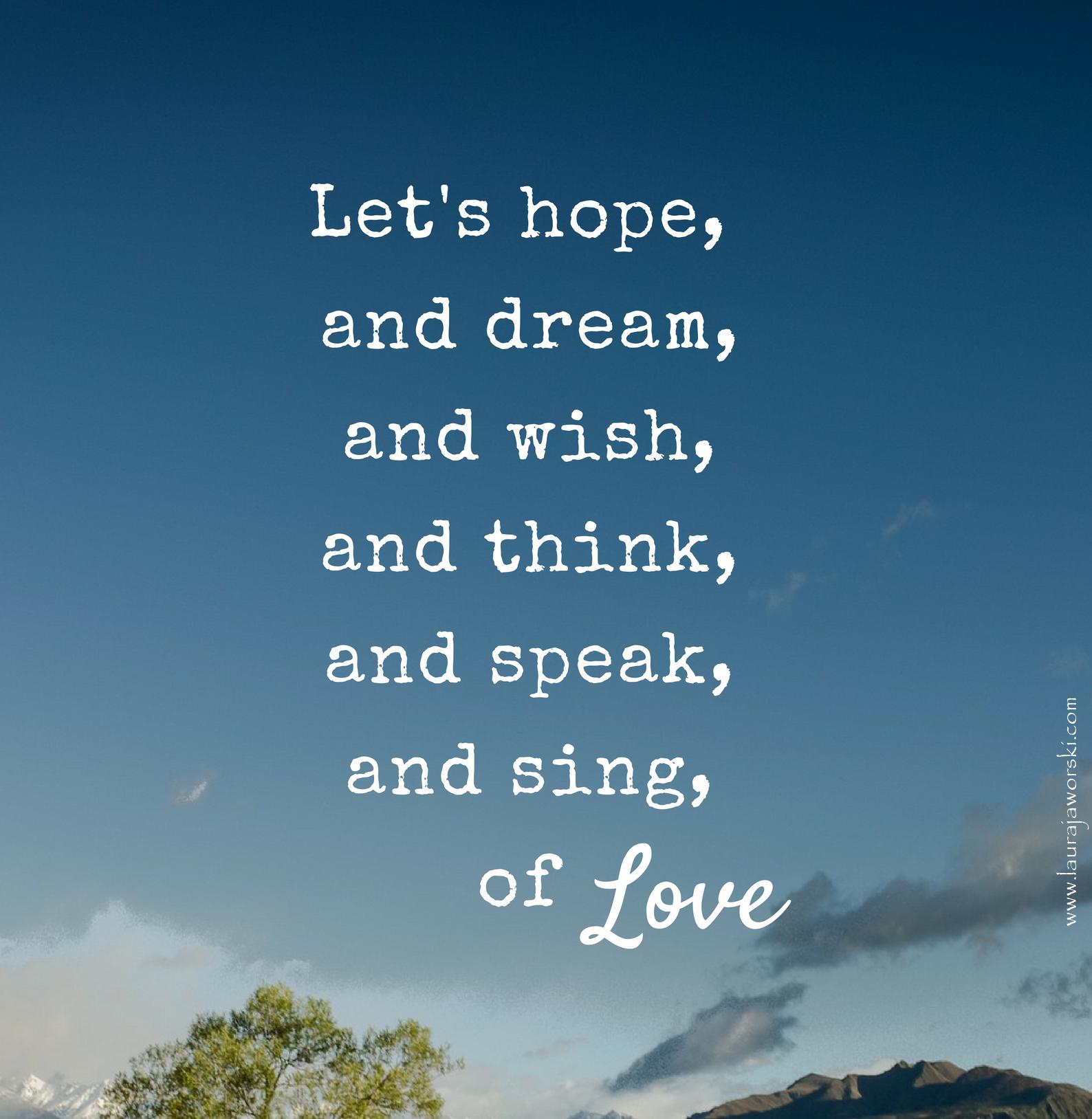 Let's ♥ | www.laurajaworski.com