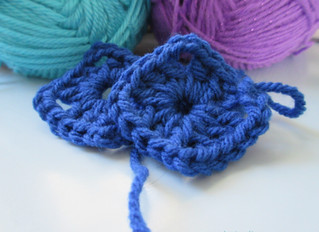 Learning Granny Squares! ♥