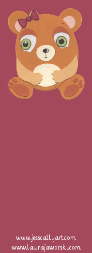 Beary Bookmark Blank