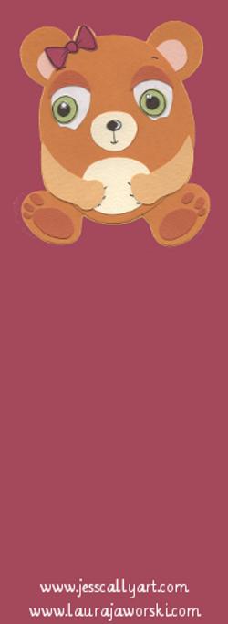 Beary Bookmark Blank