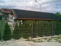 Absorber solar plan inclinat
