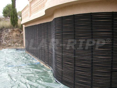 instalare verticala absorber solar petru piscine