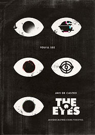 cover the eyes webcomic javi de catro comic poster