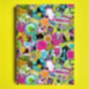 javi de catro ilustrador ilustracion cuaderno potada stickers illustrator illustration