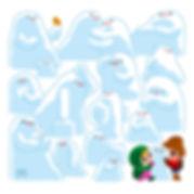 javi de castro ilustracion invierno muñecos de nieve postal navidad javi de catro regalo alegria juego