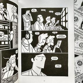 Larson comic Javi de Castro Michael Larson Adaptation