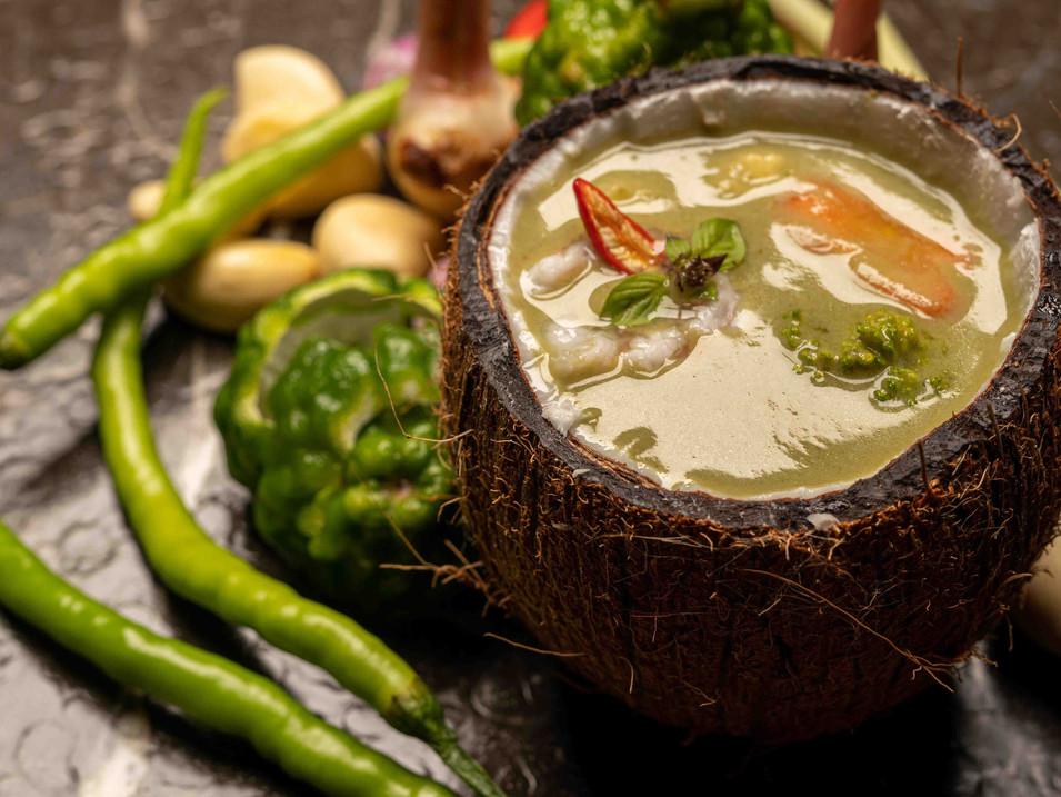 Gaeng Kiew Warm Koong - Thai Green Curry