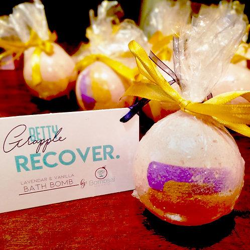 Lavender & Vanilla Bath Bomb by Bombsai