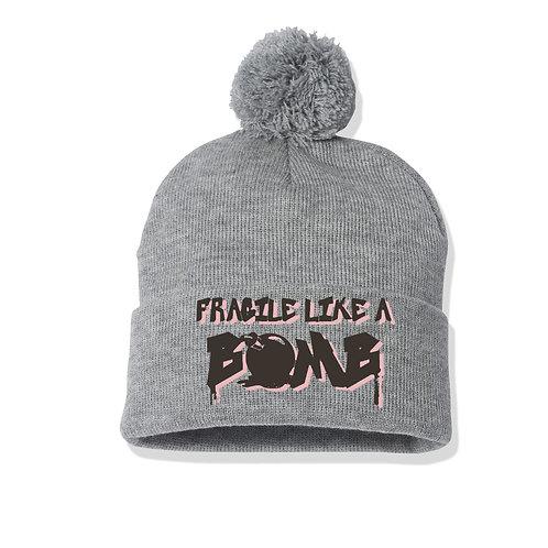 Fragile Like A Bomb Knit Beanie