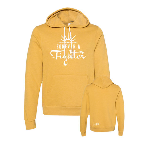 Forever a Fighter Adult Hoodie (5 color options)