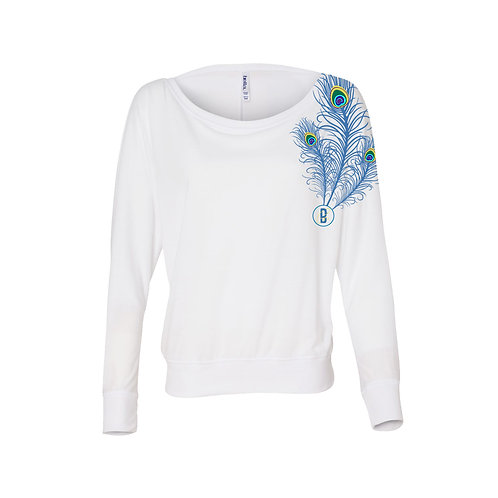 Strong. Bold. Beautiful. Flowy  Longsleeve