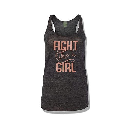 Fight Like A Girl Women's Racerback Tank