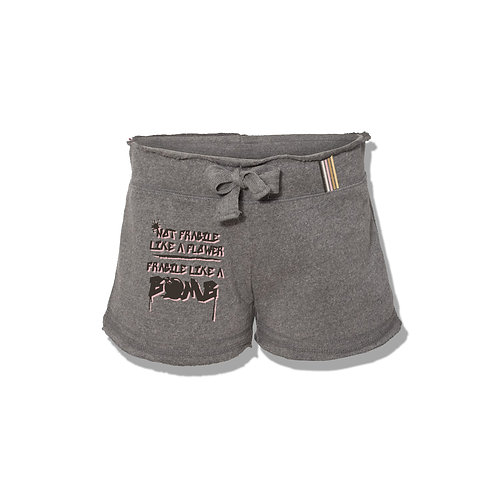Fragile Like A Bomb Women's Lounge Shorts