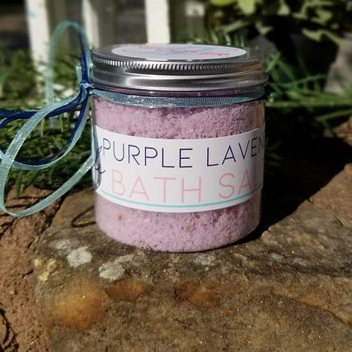Purple Lavender Bath Salts