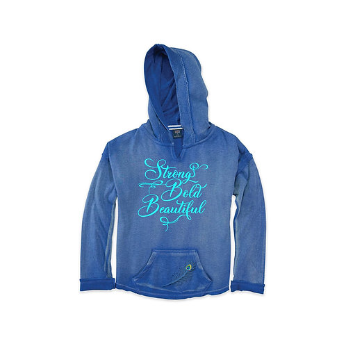 Strong. Bold. Beautiful. Pullover Hoodie Youth