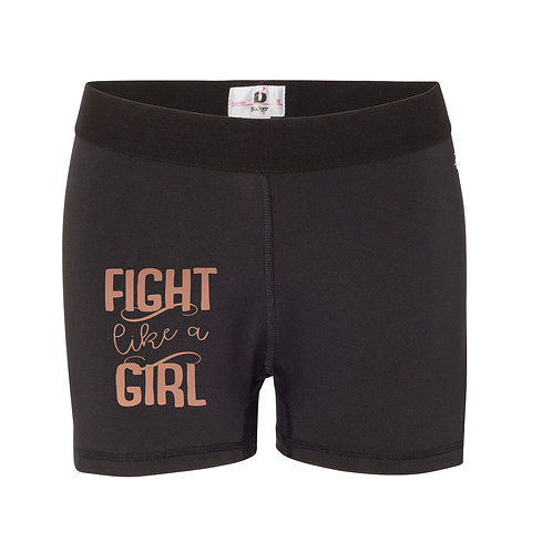 Fight Like A Girl Women's Compression Short