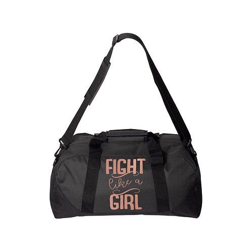 Fight Like A Girl Duffle Bag