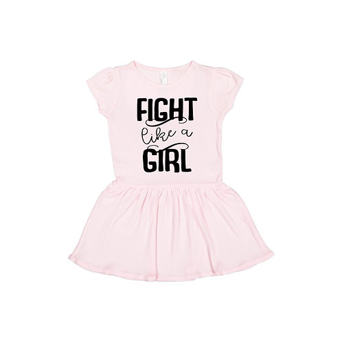 Fight Like A Girl Infant/Toddler Dress