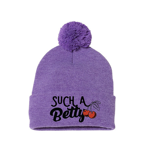 Such A Betty Knit Pom Beanie