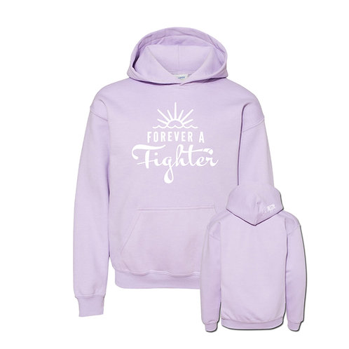 Forever a Fighter Youth Hoodie (5 color options)