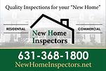 New Home Inspectors Logo