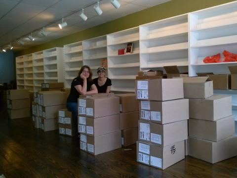 Moving into our new space!