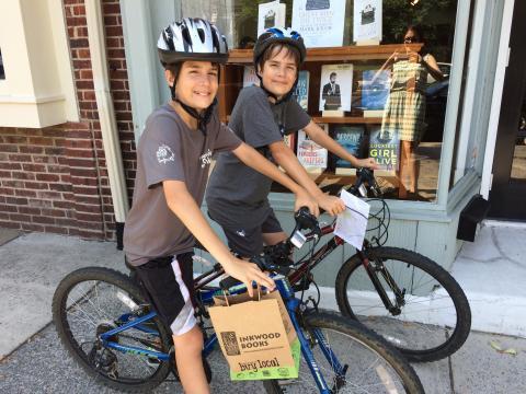 Bikes & Books!